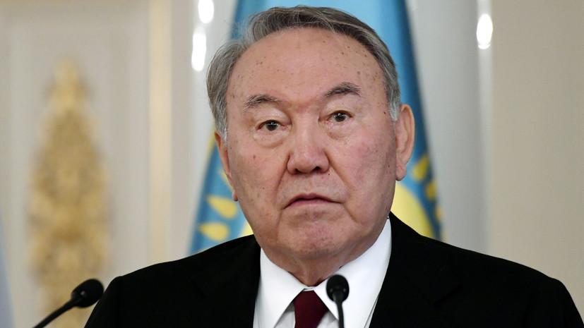 Назарбаев заявил, что Токаеву можно доверить управление страной