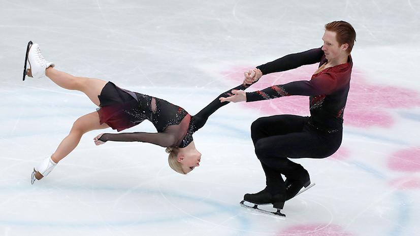 С мировым рекордом: Тарасова и Морозов выиграли короткую программу на ЧМ по фигурному катанию
