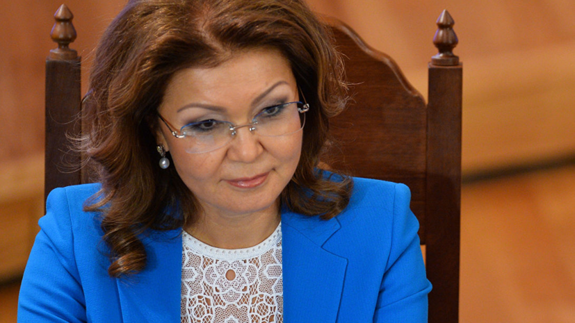 Дарига Назарбаева избрана новым спикером сената Казахстана