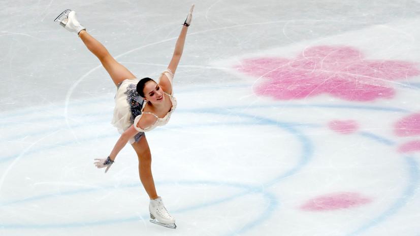 С личным рекордом: Загитова выиграла короткую программу на ЧМ в Японии, Медведева — четвёртая