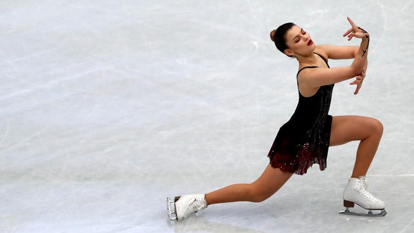 Самодурова оценила своё выступление в короткой программе на ЧМ в Сайтаме