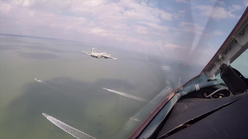 В Госдуме назвали цель пролёта украинских самолётов над Азовским морем