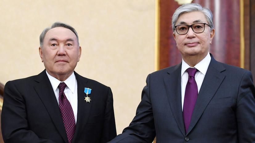 Назарбаев и Токаев благословили молодожёнов