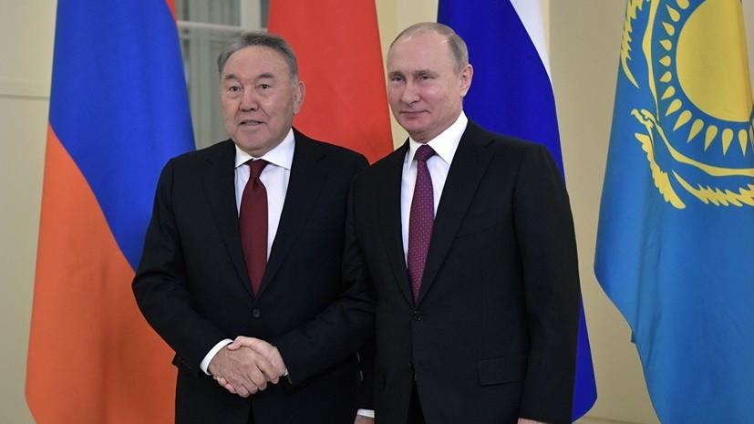 Кремль: Назарбаев не советовался с Путиным перед своей отставкой
