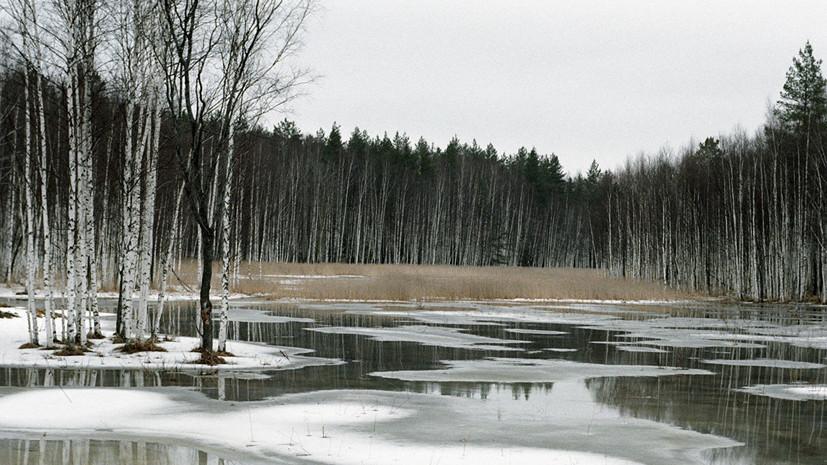 Глава Росводресурсов рассказал о регионах со сложной паводковой обстановкой