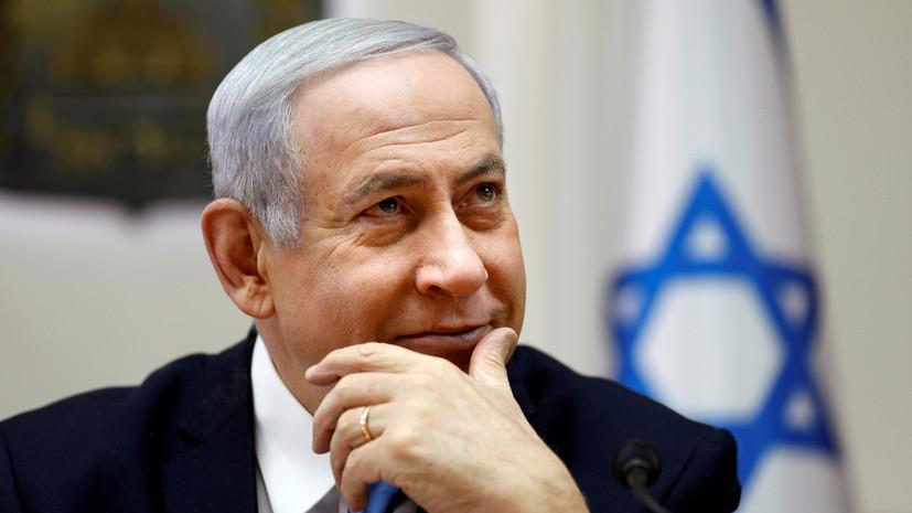 Нетаньяху ответил на заявление Трампа о Голанских высотах