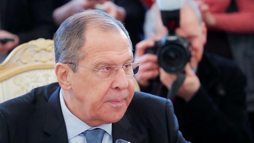Лавров рассказал о действиях Запада в Югославии