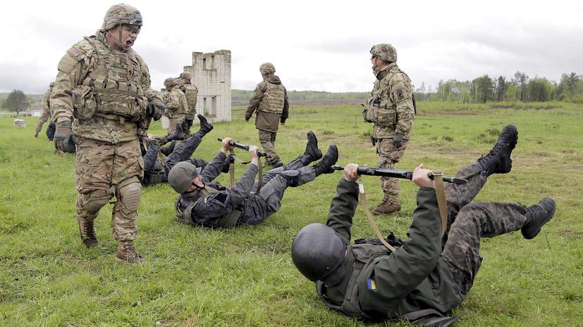 «Лозунги заканчиваются»: Порошенко заявил, что военные НАТО приезжают на Украину учиться у ВСУ