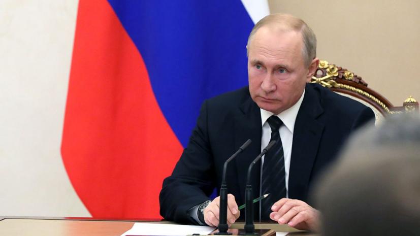 Путин выразил уверенность в спокойном переходном периоде в Казахстане