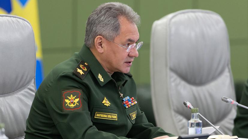Шойгу проинформировал Путина и членов Совбеза России о визите в Сирию