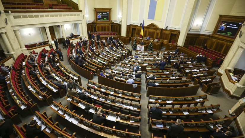 В Раде призвали упразднить должность президента Украины