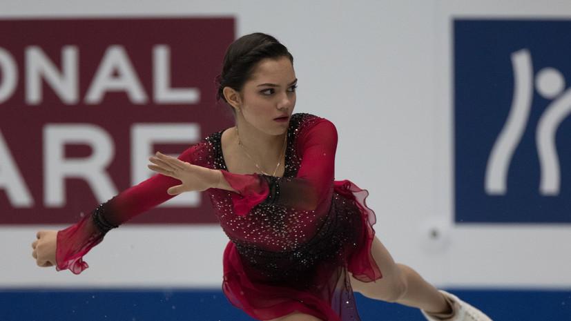 Авербух назвал бронзу Медведевой на ЧМ вознаграждением за сложный сезон