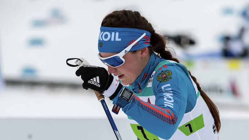 Лыжница Белорукова дисквалифицирована за удар соперницы палкой