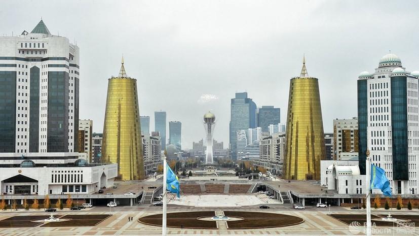 Столица Казахстана официально переименована в Нур-Султан