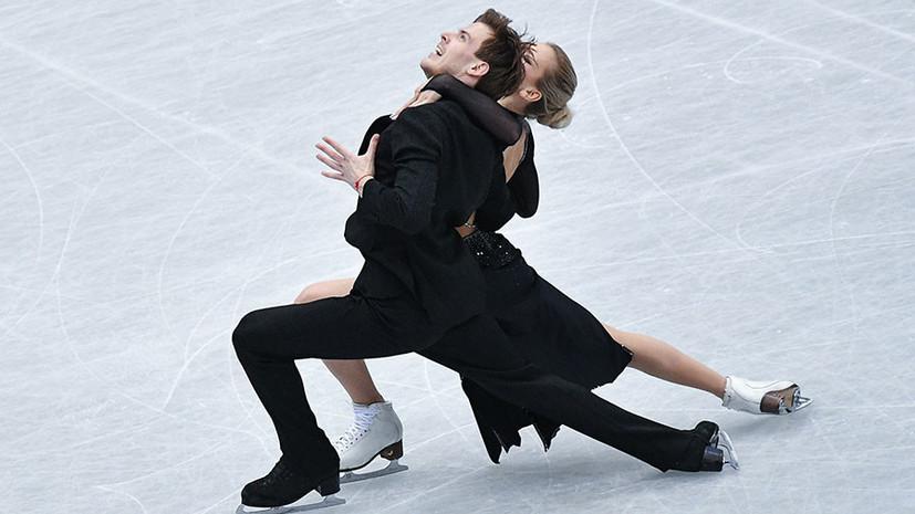 Впервые за десятилетие: танцоры Синицина и Кацалапов стали серебряными призёрами ЧМ по фигурному катанию