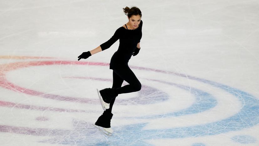 Медведева рассказала о травме перед произвольной программой на ЧМ в Японии