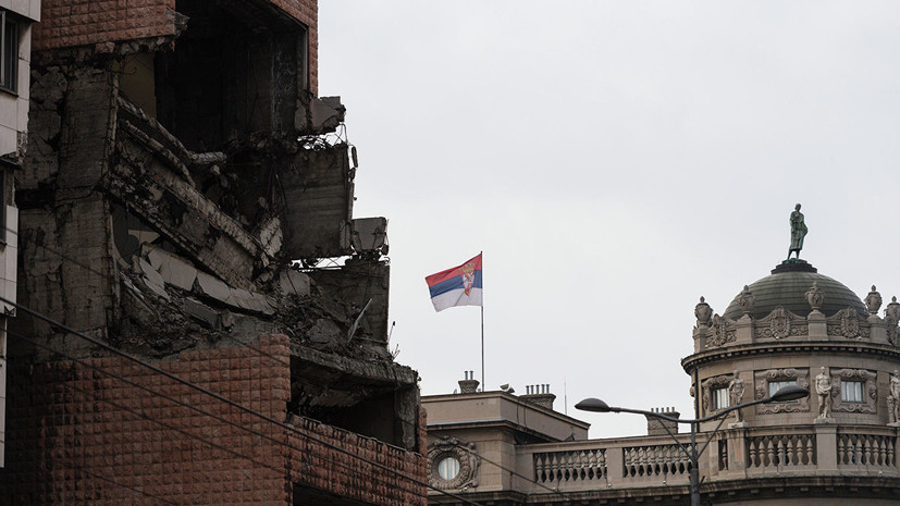 В МИД назвали бомбардировки Югославии странами НАТО «пятном позора»