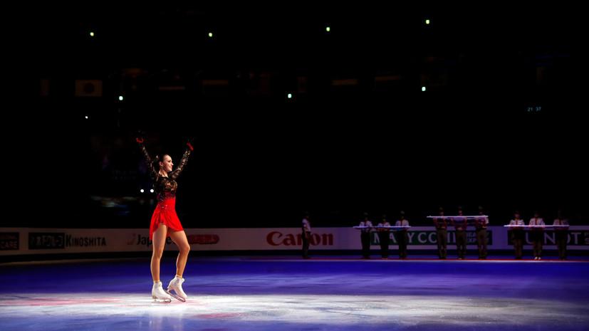 Сборная России по фигурному катанию выиграла медальный зачёт на ЧМ в Японии