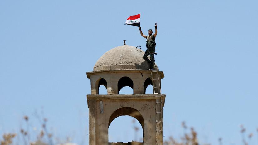 Генерал США в Сирии: часть боевиков ИГ скрываются в лагерях перемещённых лиц