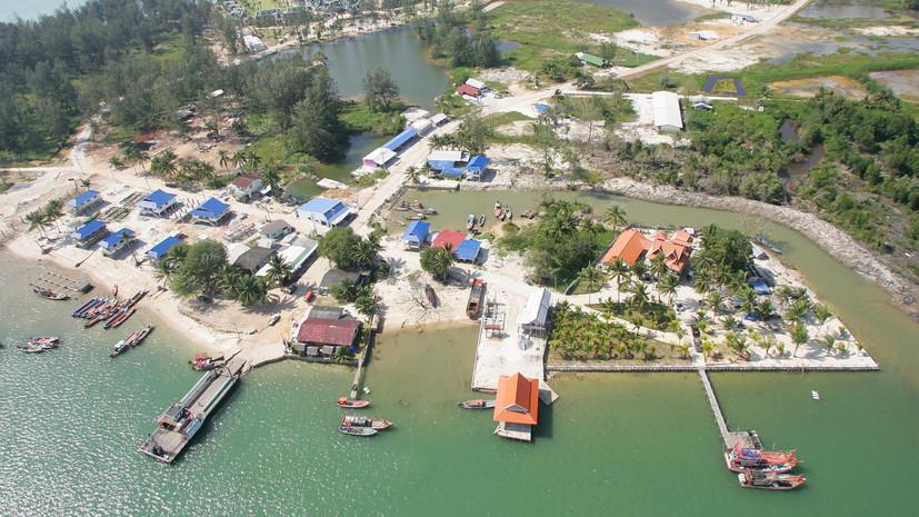 В шести провинциях на юге Таиланда объявлена угроза цунами