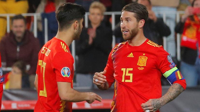 Сборная испании по футболу на евро