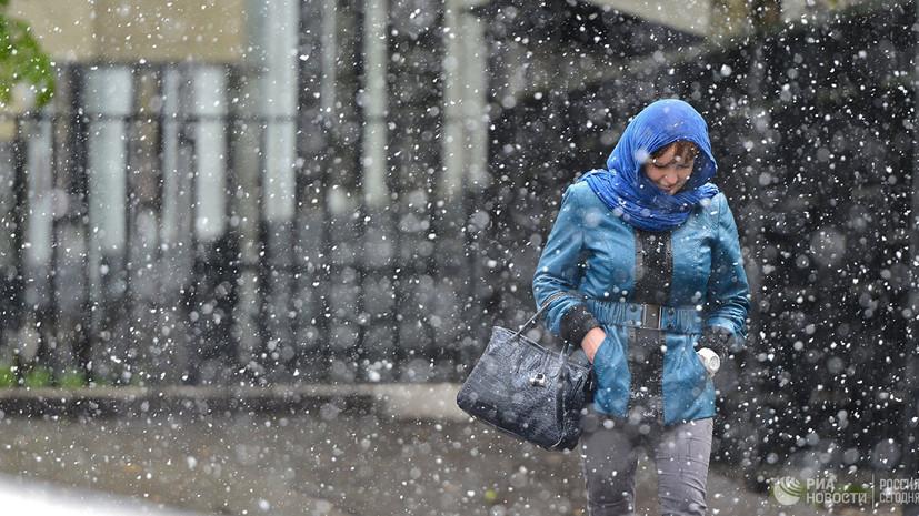 Синоптики прогнозируют «рецидив зимы» на следующей неделе в Москве