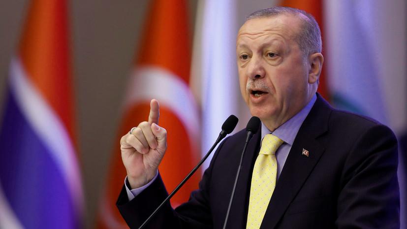 Эрдоган намерен поднять вопрос Голанских высот в Генассамблее ООН