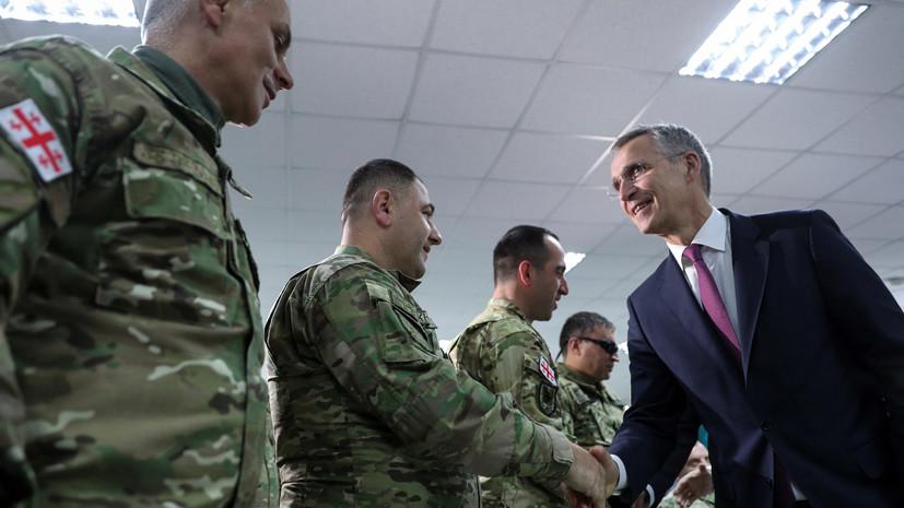В МИД Абхазии назвали учения Грузии и НАТО вызовом нацбезопасности
