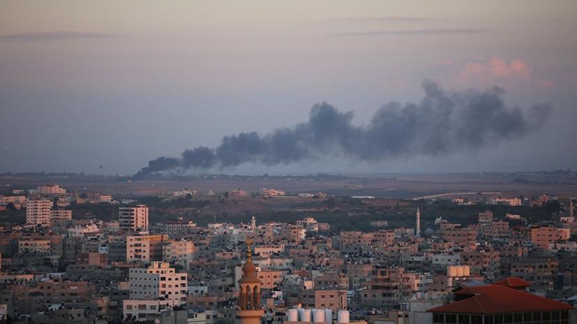 Израиль начал наносить ракетные удары по сектору Газа