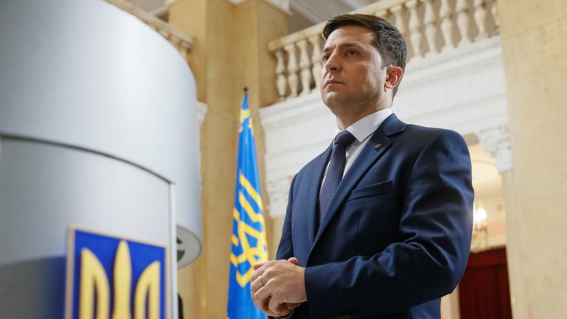 Зеленский объяснил заявление о готовности встать перед Путиным на колени