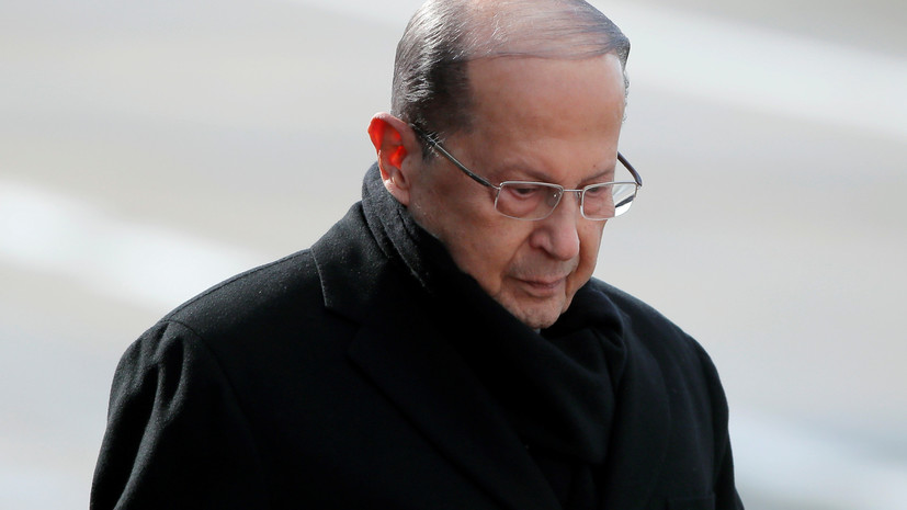 Президент Ливана не исключил нового притока сирийских беженцев в Европу