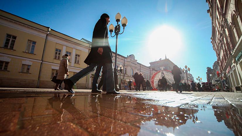 Волна тепла: какая погода установится в Москве в конце марта