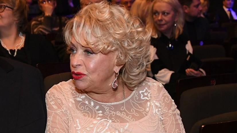 Вдова Караченцова рассказала о своём самочувствии после госпитализации