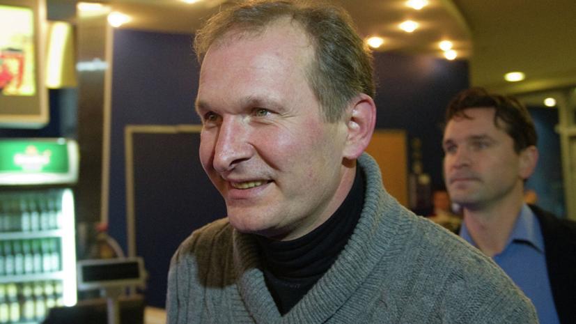 Украина отменила запрет на въезд Добронравову