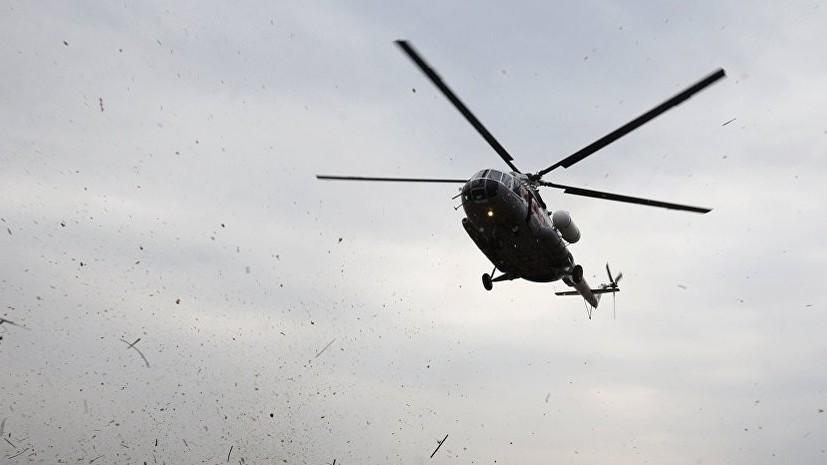 На борту разбившегося в Казахстане вертолёта Минобороны находились 13 человек