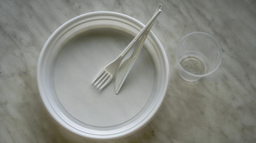 Евросоюз запретит к 2021 году продажу одноразовой пластиковой посуды