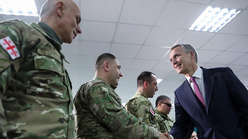 НАТО намерено расширить сотрудничество с Грузией по Чёрному морю