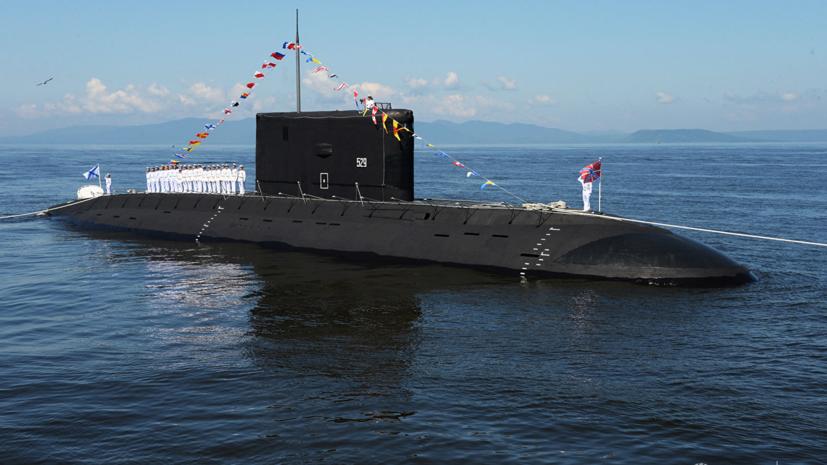 Первую подлодку проекта «Варшавянка» для ТОФ спустили на воду в Петербурге
