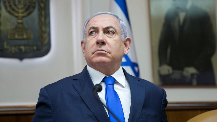Нетаньяху приказал направить подкрепление на границу с Газой