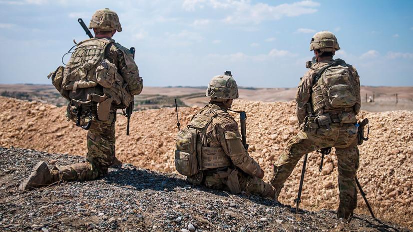 «У них нет плана действий»: глава МИД Турции рассказал об условии вывода войск США из Сирии