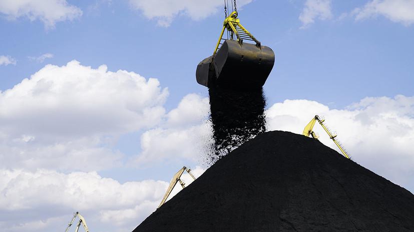 Украина приняла первый в 2019 году балкер с углём из США