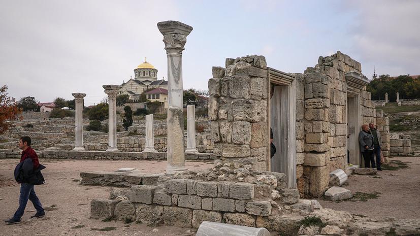 В Крыму рассказали о создании маршрута «Золотое кольцо античных городов Боспора»