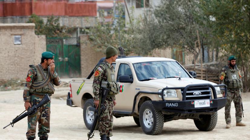В Афганистане девять полицейских погибли при нападении талибов
