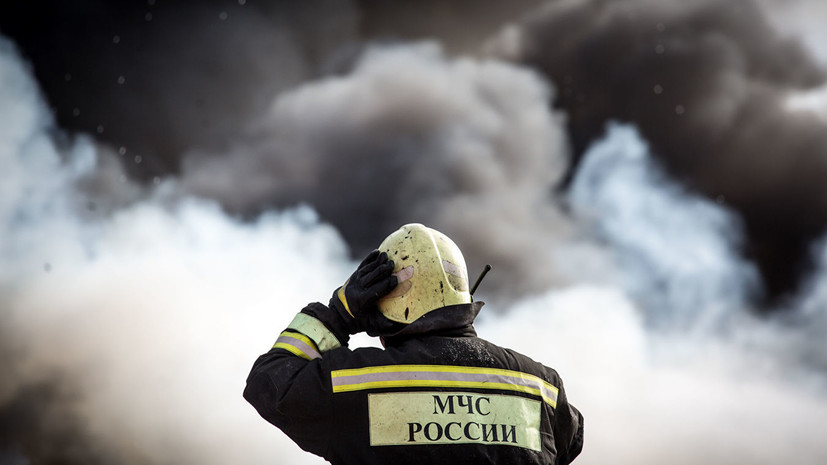 Rescuers Liquidated A Fire At A Warehouse In Krasnodar Teller Report