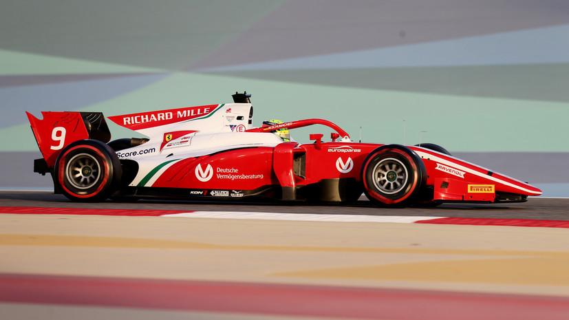 Шумахер финишировал восьмым в своей первой гонке в «Формуле-2»