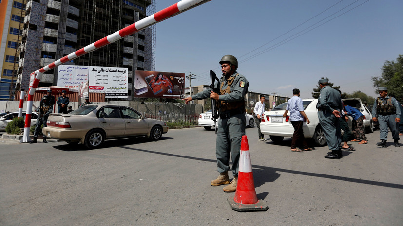 Талибы атаковали кортеж первого вице-президента Афганистана