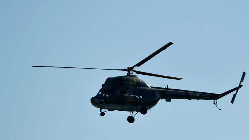 Вертолёт Ми-2 вынужденно сел в Татарстане