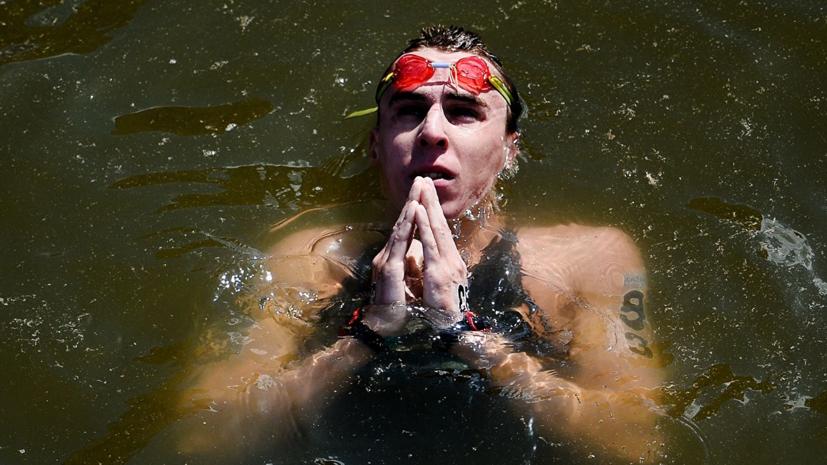 Абросимов завоевал бронзу на этапе Кубка Европы по плаванию на открытой воде