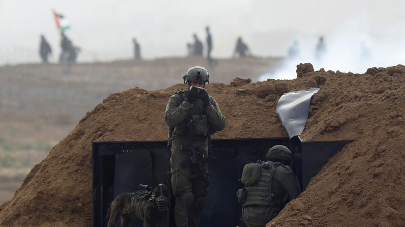 Нетаньяху приказал сохранять усиленное присутствие войск у сектора Газа