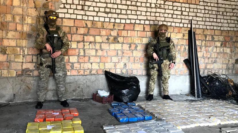 Полиция изъяла в Киевской области 600 килограммов героина